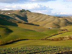 Crete Senese, Italy by Laura Gurton, via Flickr