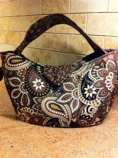 Fall Purse brown paisley design.....I love this purse!!