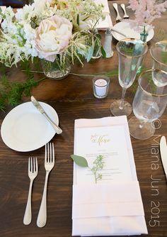 Martha's Vineyard Wedding Tablescape
