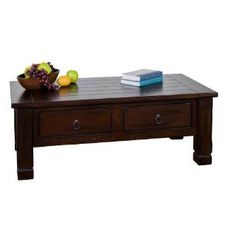 Check out the Sunny Designs 3133DC Santa Fe Coffee Table priced at $612.50 at Homeclick.com.