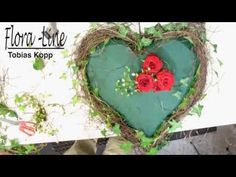 Do It Yourself Discover Ideas Diy Flowers, Fresh Flowers, Beautiful Flowers, Valentine Wreath, Grapevine Wreath, Floral Arrangements, Diy And Crafts, Projects To Try, Wreaths