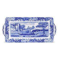 Spode Blue Italian Sandwich Tray #Spode #Blue #Italian #Sandwich #Tray