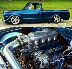 Chevy trucks aficionados are not just after the newer trucks built by Chevrolet. They are also into oldies but goodies trucks that have been magnificently preserved for long years. 67 72 Chevy Truck, Custom Chevy Trucks, C10 Trucks, Classic Chevy Trucks, Chevy C10, Chevy Pickups, Chevrolet Trucks, Pickup Trucks, Gmc Suv