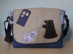 Doctor Who Bag - Full shot of the front of the bag