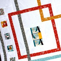 Love it! Interlock: Quilt Pattern featuring Charley Harper Fabrics
