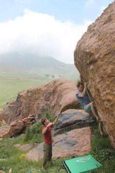 Bouldering Morocco Oukaimeden imik'simik