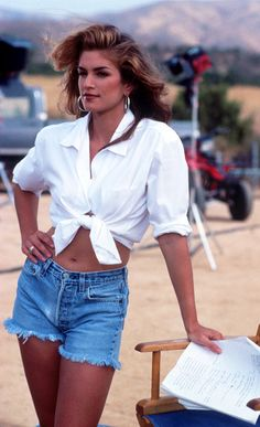 Whatever the Trend, Cindy Crawford Did It First and Did It Better via @WhoWhatWearUK