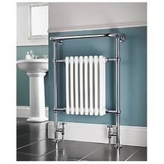 Victorian Bathroom Radiator Chrome 952 x Victorian Radiators, Victorian Furniture, Shabby Chic Furniture, Attic Bathroom, Upstairs Bathrooms, Small Bathroom, Bathroom Ideas, Country Bathrooms, Ensuite Bathrooms