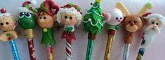 Resultado de imagen para plumas decoradas navideñas