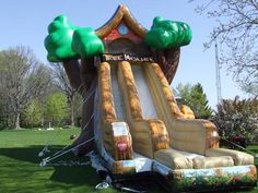 Giant Tree House inflatable