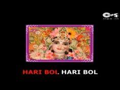 ▶ Hari Bol Hari Bol Hari Hari Bol with Lyrics - Rattan Mohan Sharma - Krishna Bhajans - Sing Along - YouTube