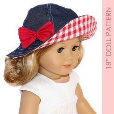 American girl doll clothes pattern pdf 18 by MyChildhoodTreasures