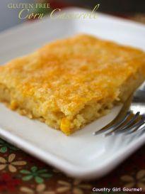 Gluten Free Corn Casserole - Country Girl Gourmet