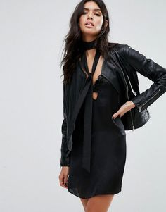 Buy it now. Mango Biker Leather Jacket - Black. Leather jacket by Mango, Matte leather, Fully lined, Collarless design, Asymmetric zip fastening, Functional pockets, Zipped cuffs, Regular fit - true to size, Do not wash, 100% Real Leather, Our model wears a UK S/EU S/US XS and is 175cm/5'9 tall. ABOUT MANGO Combining timeless style with fashion forward designs, Barcelona-born Mango are renowned for bringing their European touch to statement dresses and tailored garments. Simple lines and…