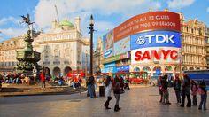 En tur till Piccadilly Circus förstås!