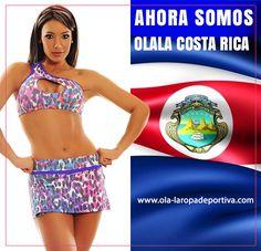 AHORA SOMOS OLALA COSTA RICA. Siempre pensando en la mujer, expandimos nuestro territorio. Búscanos en Facebook como: https://www.facebook.com/Ola-la-Ropa-Deportiva-Costa-Ric…/…/  O contáctanos por Whatsapp 88379042.  OLA-LA ropa deportiva, amplía su Universo en moda deportiva, para estar siempre más CERCA de ti!!!  #Distribuidor #CostaRica #Fashion #GYM #Ecommerce #Online