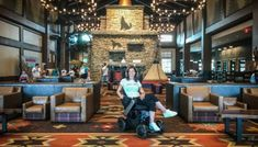 Get Your Wheelchair Wet at the Accessible Great Wolf Lodge • Spin the Globe Great Wolf Lodge, Hotel Reviews, Lodges, Als Symptoms, Spin, Globe, Street View, Swimming, Vacation