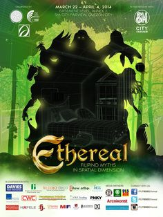 Check this out ;) Ethereal: Filipino Myths in Spatial Dimension, an Interior Design Exhibit