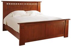 Highlands Bed, Queen- new Stickley line for 2014.
