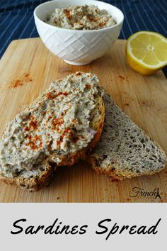 Sardine Recipes Canned, Canned Foods, Great Appetizers, Appetizer Recipes, Tinned Sardines Recipe, How To Eat Sardines, Low Carb Recipes, Cooking Recipes, Diet Recipes