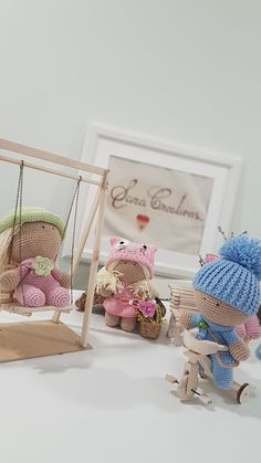 """Sara Creations - crochet toys & wooden hand made things - """" Little ones """" collection Jucării croșetate & accesorii lemn hand made - colectia """" Little ones """" Wooden Hand, Crochet Toys, Wardrobe Rack, Little Ones, How To Make, Handmade, Furniture, Collection, Home Decor"""
