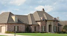 Architectural Designs Acadian House Plan 56326SM  Just under 2,500 square feet 4 beds 3 baths a ton of photos  And ready to be built again!