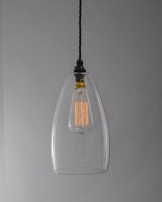 Upton Clear Glass Pendant Light