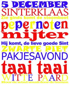 Sinterklaas subway art. I couldn't find any, so I made this one myself!