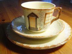 keele street potteryhandpainted cottage ware by alomartesantiques