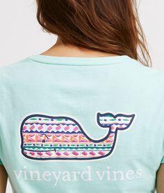 Shop Island Stripe Whale Tee at vineyard vines Vineyard Vines Outfits 487de8555d