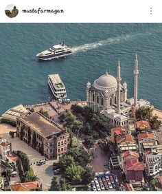 Ortaköy // by Uğur Soyata (emrkrm) – aaron k – Join the world of pin Best Hotels In Istanbul, Turkey Pics, City Landscape, Fantasy Landscape, Beautiful Places To Visit, Places Around The World, Paris Skyline, Places To Travel, Architecture