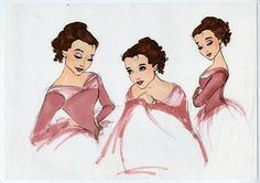 Belle concept art... can u see the French influence?
