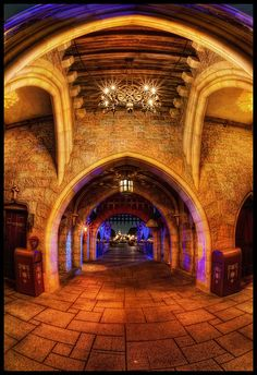 Gateway II - The View From the Other Side, Sleeping Beauty Castle, Disneyland (Explore) | Flickr - Photo Sharing!
