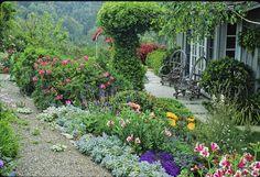 xx..tracy porter..poetic wanderlust...Country Garden