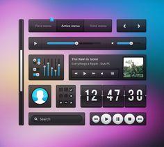 Free Transparent UI Kit UI Kit - http://www.vectorarea.com/free-transparent-ui-kit-ui-kit