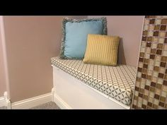 How To Make a Quick and Easy Box Cushion Video - Sailrite