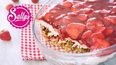 in diesem Video bereite ich ein super leckeres und sehr einfaches Erdbeer-Brezel-Dessert zu. Erdbeeren und Brezel - passt das überhaupt ? Das denken sich jet...
