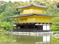 Kinkaku-ji (Goldener Pavillon) / Japan