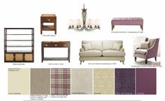 Introduce rich, plum tones to create depth in your design #hotlooks #plum