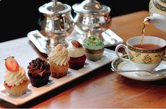 Afternoon tea at Ritz-Carlton, New York