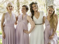 The Girls are all grown up! HBO just unveiled the season 5 Girls trailer which includes a sneak peek at Marnie's (played by Allison Williams) gorgeous wedding dress — and she's the definition of a bohemian bride! Girls/HBO/Instagram Marnie wears a romantic Grecian-inspired column dress with long flowy sleeves, plus, an embellished belt, relaxed side […]...