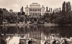 Parcul Carol I, vedere spre Palatul Artelor. Timeline Photos, Romania, Taj Mahal, Louvre, Architecture, Building, Travel, Image, Google Search