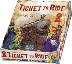 Amazon.com: Ticket To Ride: Days of Wonder: Toys & Games (any version)