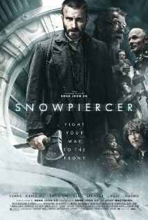 Snowpiercer...About a failed global warming experiment kills off all life on the planet except for a few.