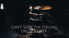 "This ""Cant Stop the Feeling"" drum cover by Ernie Ithier is going to get you grooving! #‎Music"
