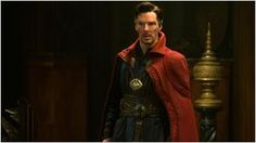 Benedict Cumberbatch fue disfrazado de Doctor Strange (Doctor Extraño) a una cafetería de Nueva York