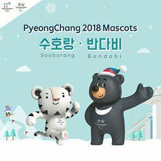 Pyeongchang Olympic mascot