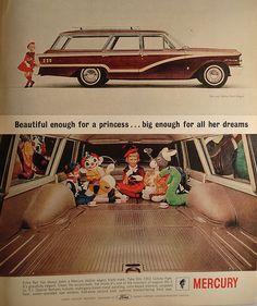 1963 Ford Mercury Colony Park Wagon Advertising Life Magazine January 25 1963 | Flickr - Photo Sharing!