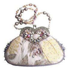 """Mary Francis """"Sweetheart"""" Evening Bag"""