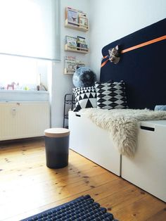 mommo design: IKEA HACKS FOR BOYS - Stuva + Bekvam spice rack = reading corner